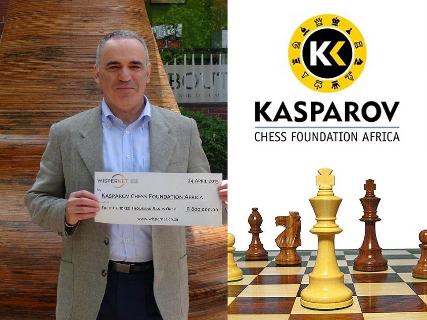 Garry Kasparov World Chess Champion - Kasparov Chess Foundation Africa