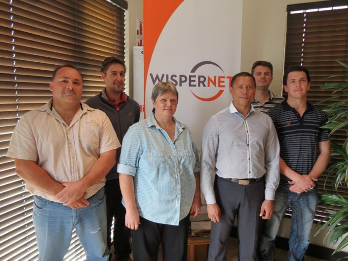 Team Wispernet on VOIP Training (1)